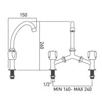Possible To Upgrade A 2 Taps Sink To A Twin Deck Mixer Tap