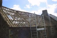 Rear roof
