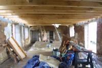 Joists ampamp bracing removed