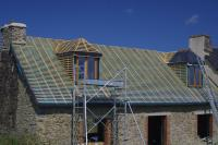 Dormers constructed