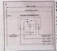 Honeywell Thermostat Wiring Diagram on Replacing Old Honeywell Room Thermostat With Terrier Trt1   Diynot Com