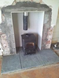 Heat Insulation For A Wood Burning Stove Diynot Com